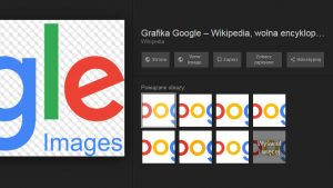 Zniknął przycisk Pokaż obraz wGoogle