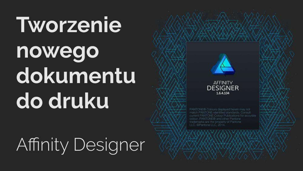 jak ustawić spady w Affinity Designer
