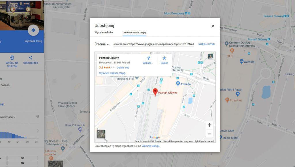 Jak wstawić mapę Google naswojej stronie internetowej?
