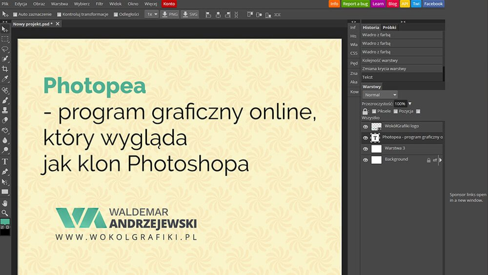 program graficzny online photoshop
