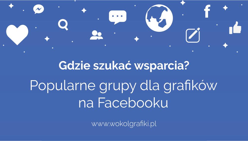 polskie grupy dla grafików facebook