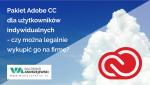 Czy pakiet Adobe CC dla użytkowników indywidualnych mogę używać wfirmie?